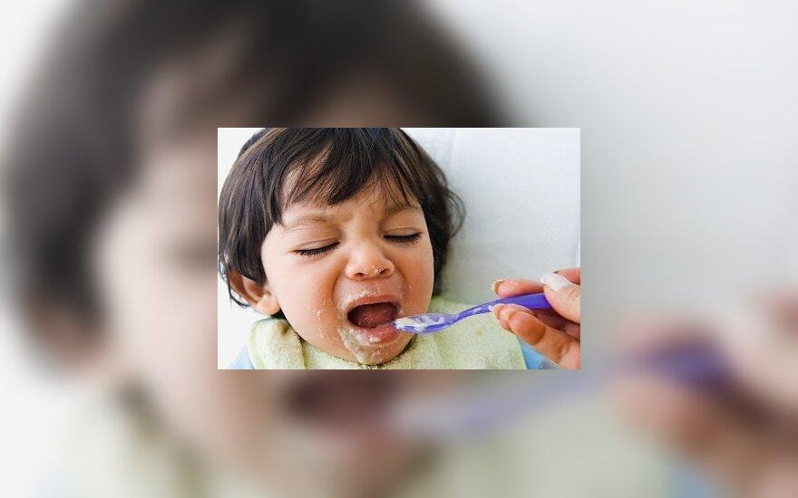 Vaikas nevalgo