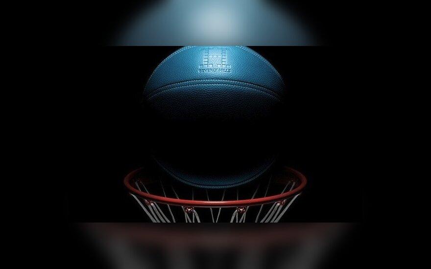 """""""Hermes """"prabangus krepšinio kamuolys (designtaxi.com nuotr.)"""