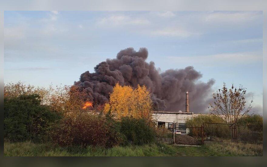 Kaltina VRM atsikračius atsakomybės dėl gaisro Alytuje