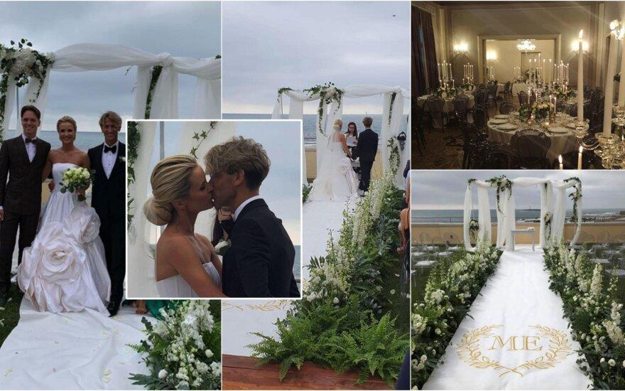 Editos Daniūtės ir Mirko Gozzoli vestuvės Italijoje