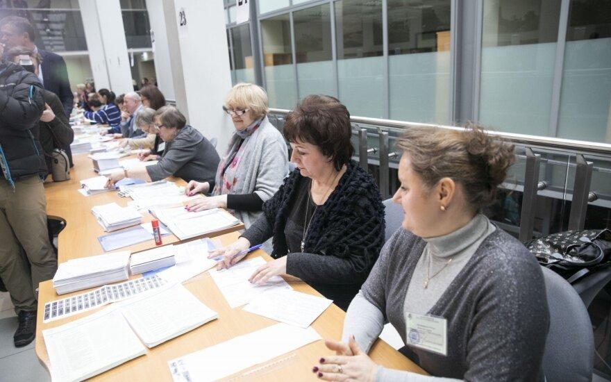 Savivaldos rinkimuose iš anksto balsavo 3,2 proc. rinkėjų