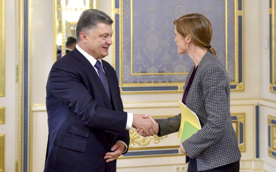 Petro Porošenka, Samantha Power