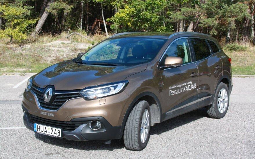 "Testuotas ""Renault Kadjar"""