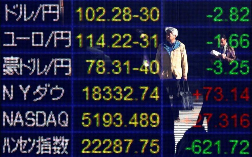 Pasaulio rinkos reaguoja į JAV rinkimus