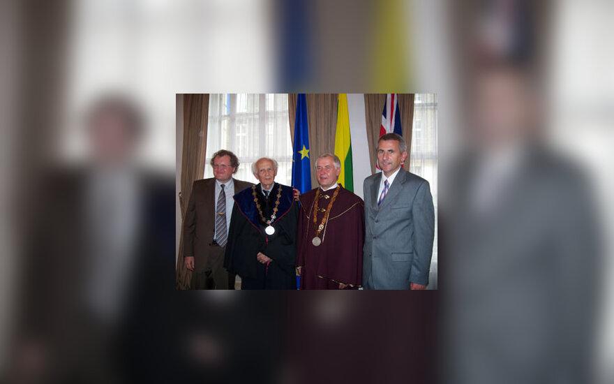 Leonidas Donskis, Zygmuntas Baumanas, Zigmas Lydeka, Vygaudas Ušackas