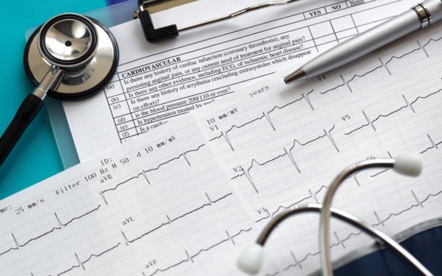 Nepagydoma širdies liga – kas trečias miršta per vienerius metus nuo patekimo į ligoninę