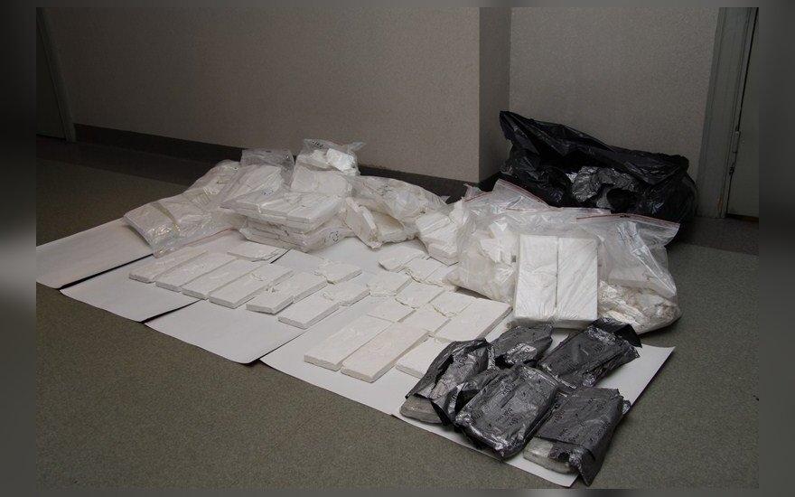 Danijos policija sulaikė 27 asmenis, įtariamus kokaino kontrabanda