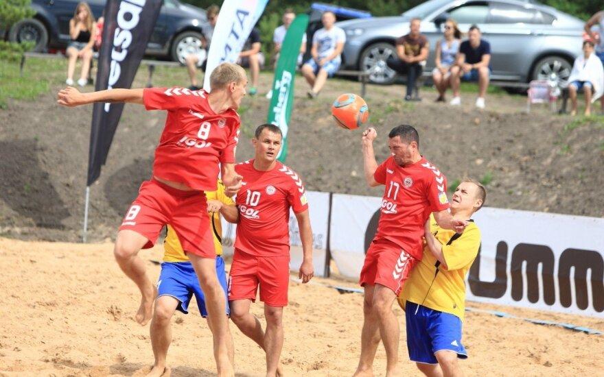 Paplūdimo futbolo čempionatas Kupiškyje