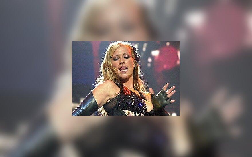 Dainininkė Anastacia