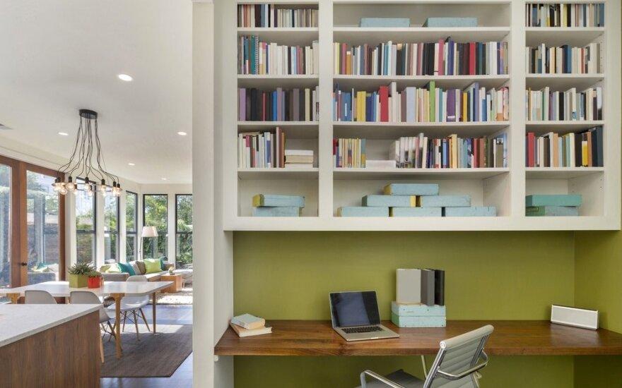 Kūrybingos idėjos mažiems namams, kurios padės sutaupyti vietos