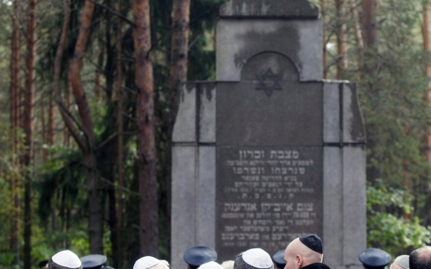 March of the Living honours Holocaust victims in Paneriai, Lithuania