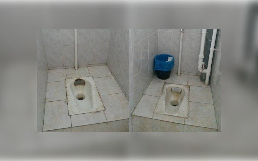 Mokyklos tualetą išvydusi mama: kaip išmokyti vaiką daryti į skylę?