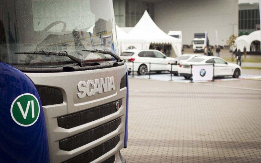 """""""Scania"""" apskųs ES skirtą 880 mln. eurų baudą"""