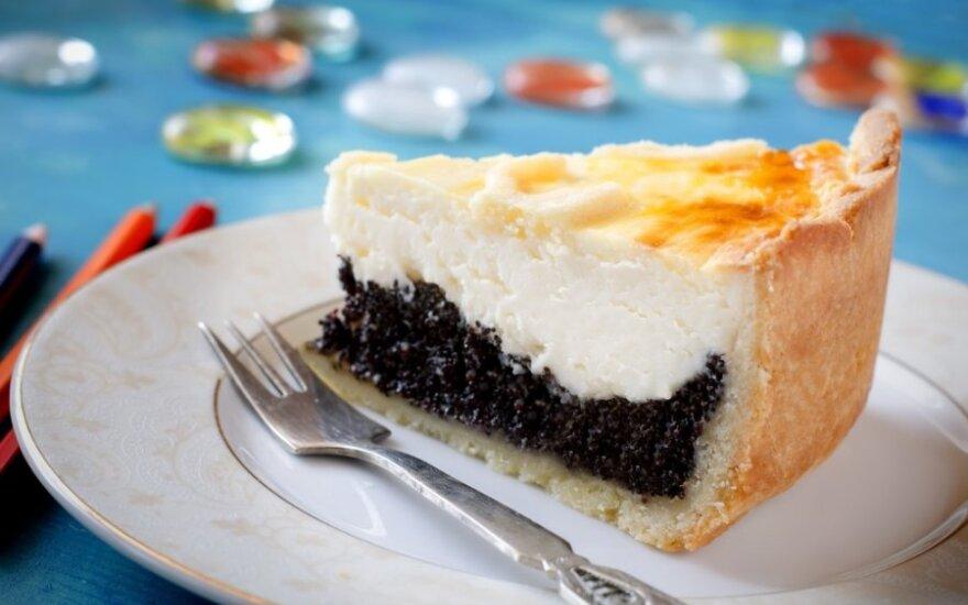 Aguoninis sūrio pyragas