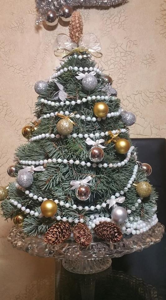 Pasidaryk pats: kalėdinės eglutės ir vainiko idėja
