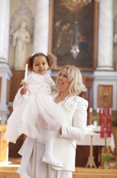 Aurelija PŠANAŠKAITĖ su dukra