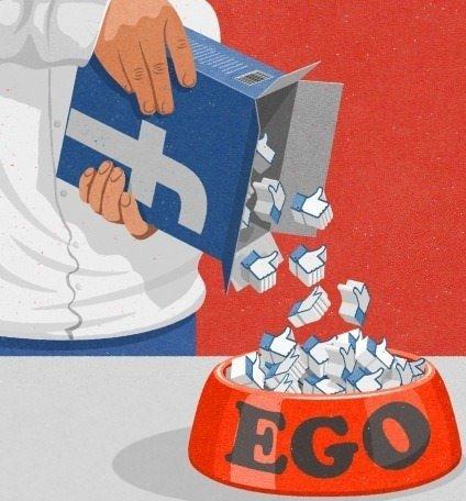 Facebook ir ego