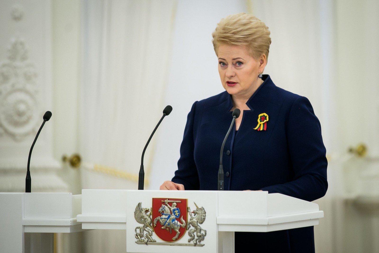 Президенты Литвы иПольши обсудили геополитические вопросы