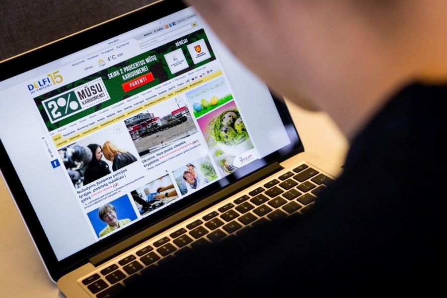 Lithuanians are most avid online news consumers in EU - EN DELFI