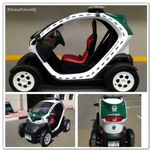 Dubajaus policijos Renault Twizy