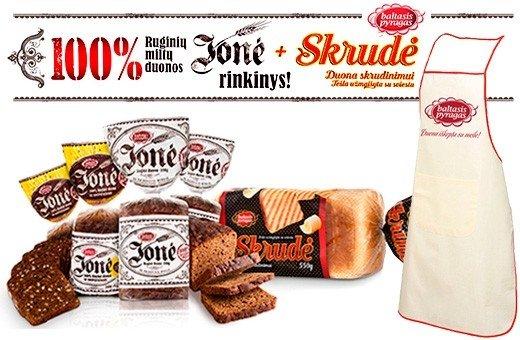 """Duona """"Jonė"""" ir prijuostė"""