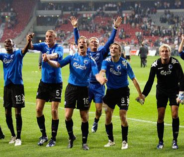 """FC Copenhagen"" futbolininkai triumfuoja"