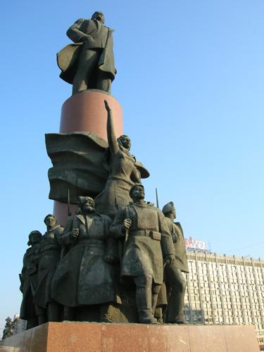 Lenino skulptūra Maskvoje