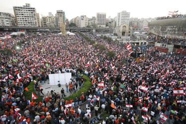 Protestas Libane