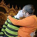 Bučiuojasi homoseksualų pora