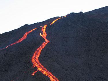 Lava. Gvatemala