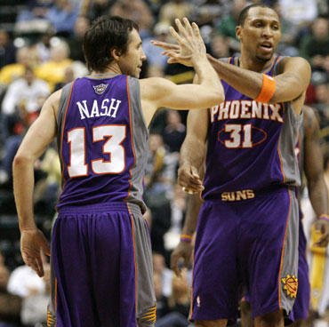 """Steve'as Nashas ir Shawnas Marionas (""""Suns"""")"""