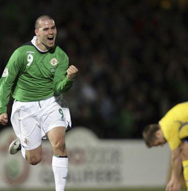 Šiaurės Airijos futbolininkas Davidas Healy