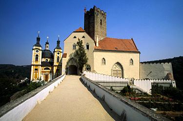 Čekija, Vranovo pilis