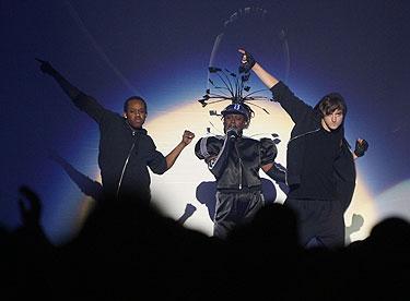 """Grupės """"Pet Shop Boys"""" pasirodymas"""