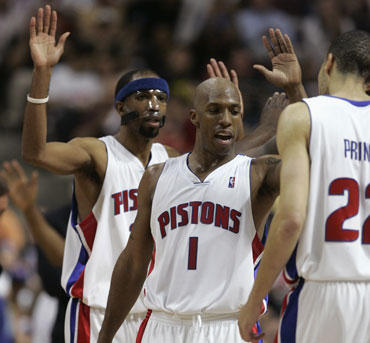 "Detroito ""Pistons"" krepšininkai"