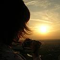 Saulėlydis, vakaras, dangus, fotografavimas