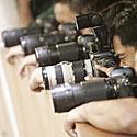 Fotografai, objektyvai