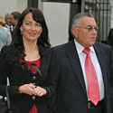 Petras Baguška su dukra