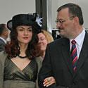Kęstutis Daukšys su drauge Eirida