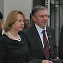 Gediminas Kirkilas su žmona Liudmila