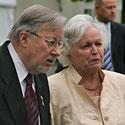 Vytautas Landzbergis su žmona Gražina