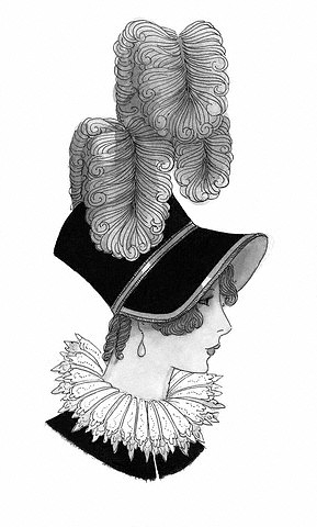 Skrybėlė. 1813 m.