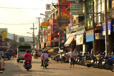 Phuket-Tail miestas Tailande