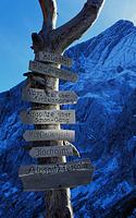 Austrija, rodyklės kalnuose