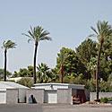 Palmės, vasara, karštis, dangus