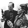 Ingmaras Bergmanas su žmona Ingrid