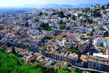 Albaicin kvartalas Granadoje