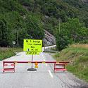 Norvegija, uždarytas kelias