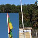 Lietuvos vėliavos kabinamos Italijoje