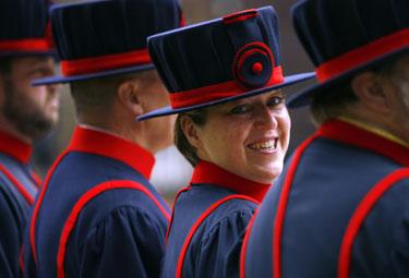 Londono tauerio sargybinė Moira Cemeron